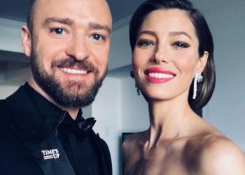 Как загряха Джъстин Тимбърлейк и Джесика Бийл за наградите ''Златен глобус'' (ВИДЕО)