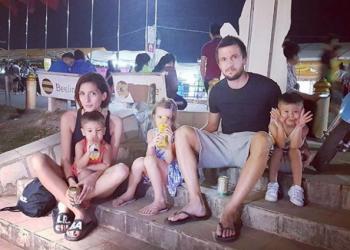 Един ден на Ромина и Дарко Тасевски в Лаос