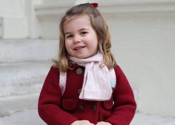 Принцеса Шарлот тръгна на детска градина