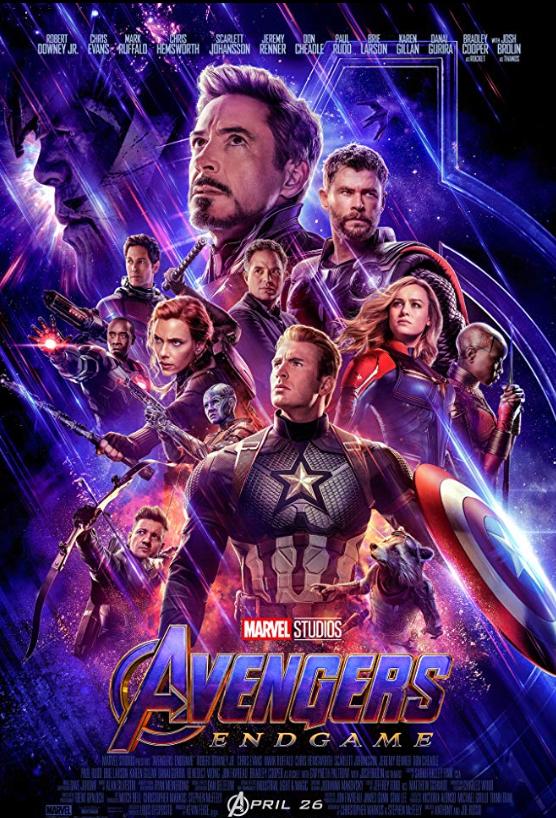 """1. """"Отмъстителите"""" на Марвел Филмите носят 1,5 милиарда долара през 2012 г. Очакваше се третият филм """"Отмъстителите: Краят"""" да счупи рекордите, като смело прогнозираха, че ще надмине 1 милиард още 3 дни след премиерата. Две седмици след първата прожекция, филмът събра 2.18 милиарда долата, което поставя """"Отмъстителите: Краят"""" на първо място в нашата класация. Режисьори са Антъни и Джо Русо, а сценарият е на Кристофър Маркъс и Стивън МакФийли."""