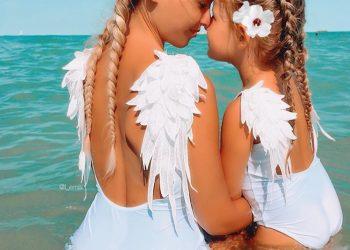 Уроци по стил – мама и дъщеря, които винаги се обличат еднакво (СНИМКИ)
