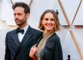 Натали Портман и съпруга й - френският хореограф Бенжамен Милпие сн. БГНЕС