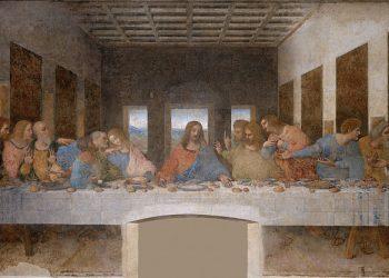 """""""Тайната вечеря"""" от Леонардо да Винчи. (Снимка: Wikimedia Commons)"""