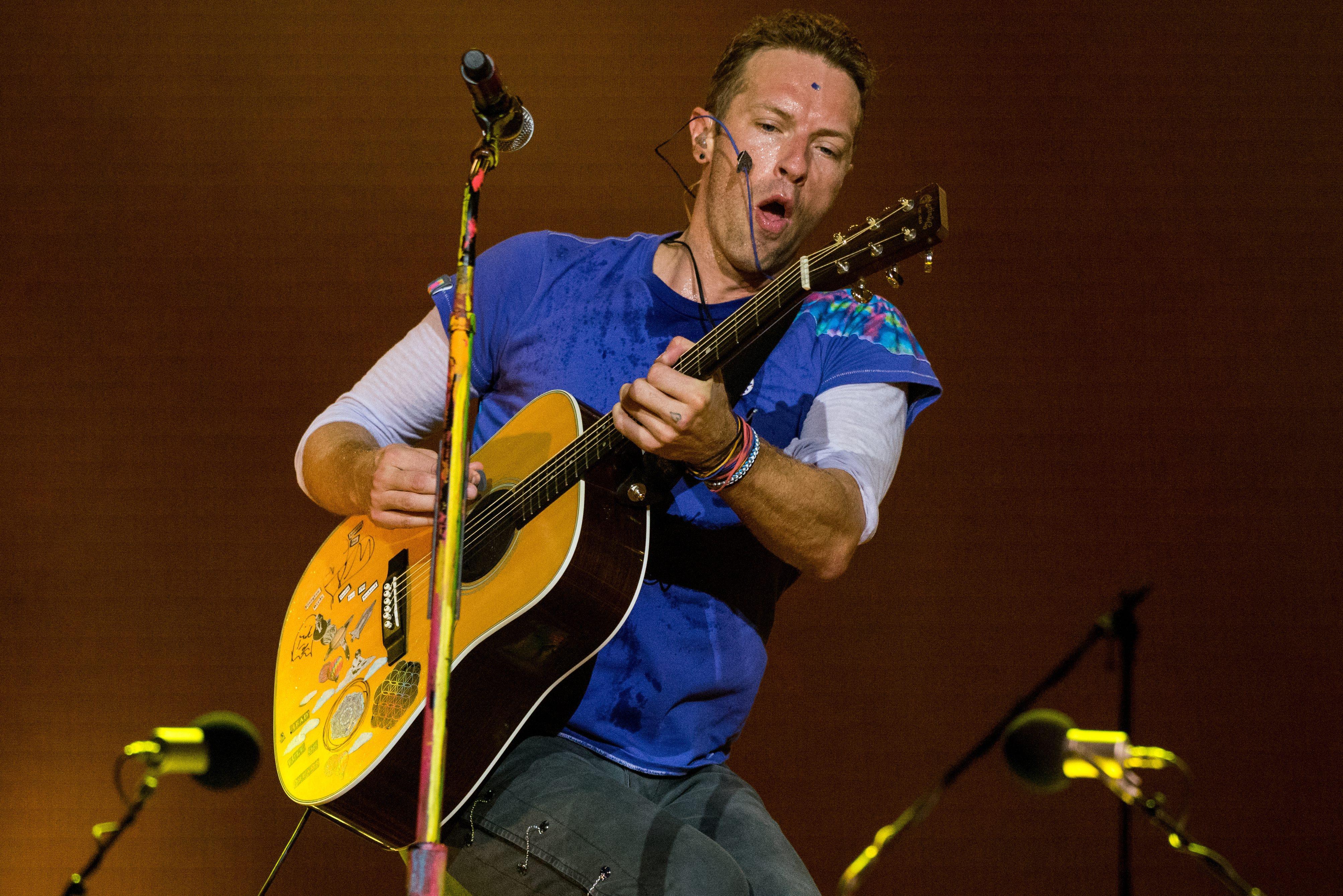 Крис Мартин от Coldplay ->->->