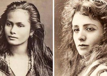 Тези стогодишни фотографии показват най-красивите жени на времето