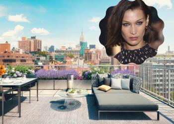 На гости на Бела Хадид в новия й апартамент в Ню Йорк (СНИМКИ)