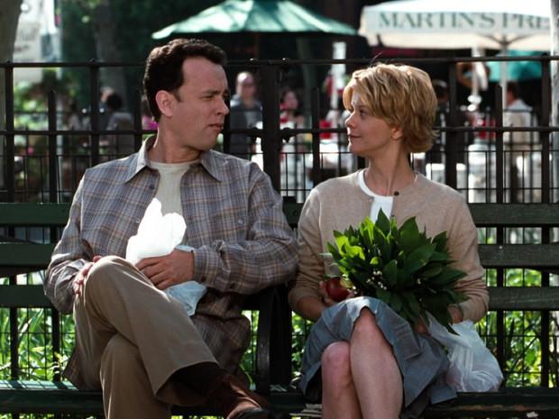 """Второто място отиде във филма от 1998 г. """"Имаш поща"""", в който участва Мег Райън, звездата от жанра на романтичната комедия, и придружен от Том Ханкс. Разказва историята на двама души, които имат романс онлайн и не знаят, че в истинския живот са бизнес съперници."""